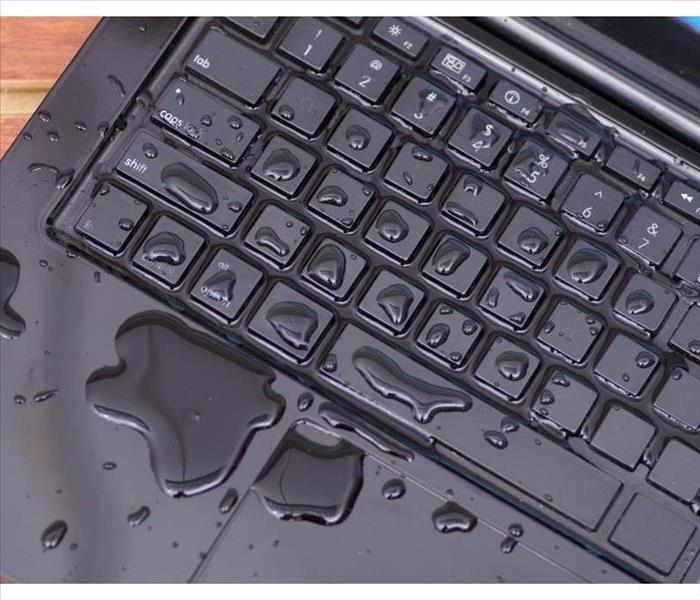 Wet computer keyboard